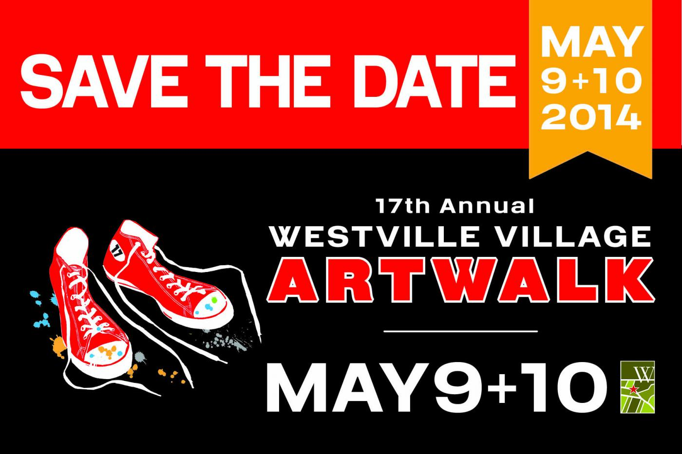 2014 ArtWalk Save the Date