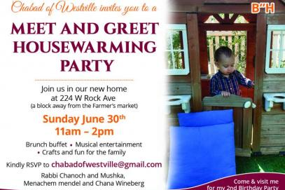 Meet & Greet Housewarming Party - Sunday June 30th, 11am-2pm