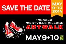 2014 ArtWalk Save the Date
