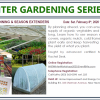 Winter Gardening Series: Garden Planning & Season Extenders